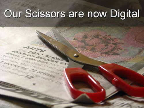 Our scissors are now digital | by pollyalida