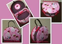 ♥ Maleta Cupcake ♥ by pedacinhos di pano - By Claudia