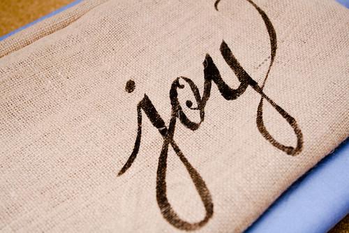 Как сделать надпись на тканях