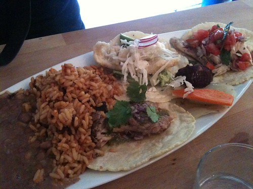 Rice & Beans: Taco Combo | by clotilde