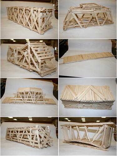 Popsicle Stick Bridge Building Lesson Plan