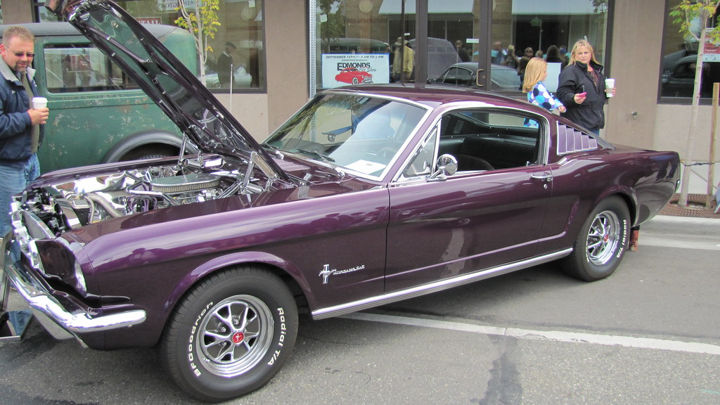 cool purple cars 1965 purple mustang fastback 22 bballchico flickr