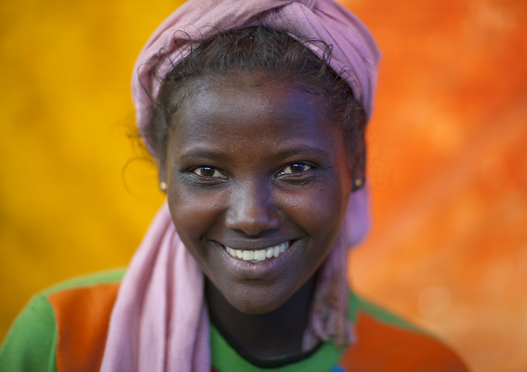 Miss Marina, Amhara Girl, Ethiopia  All Along The Roads -7132