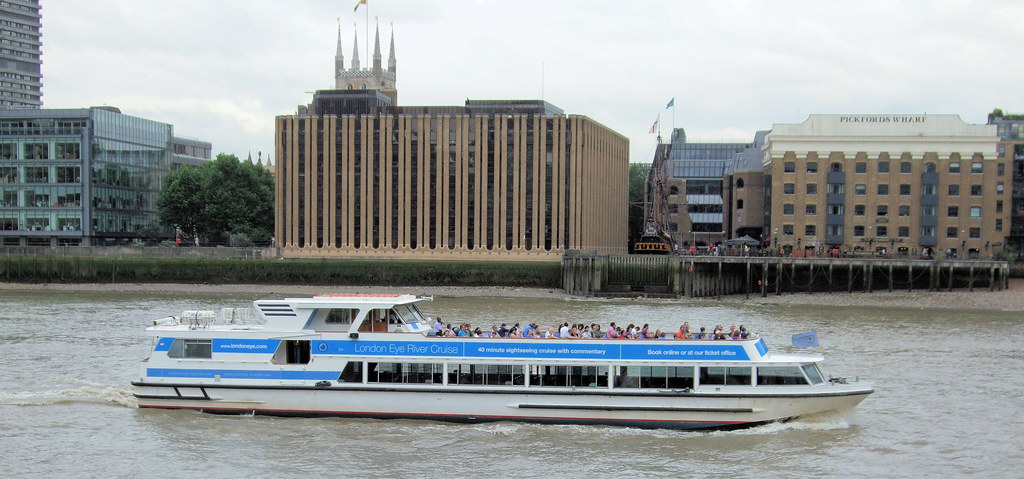 London Eye River Cruise Boat On The Thames  London  Flickr