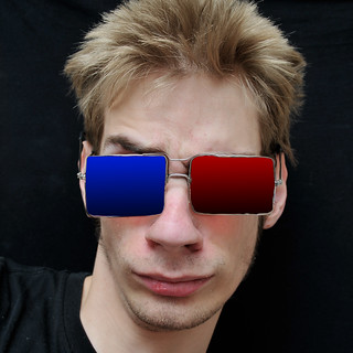 Teenager wears Real 3D Glasses | by Photo Extremist