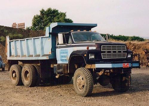 New Ford Truck >> Ford F-Model 6X6 dump   Detroit V8 power.   Dick Copello   Flickr