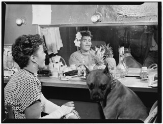 [Portrait of Billie Holiday, Downbeat(?), New York, N.Y., ca. June 1946] (LOC) | by The Library of Congress