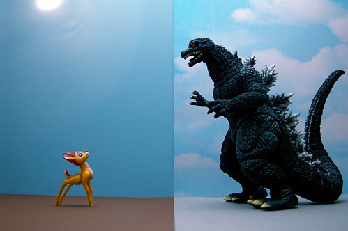 Bambi vs. Godzilla (211/365) | by JD Hancock
