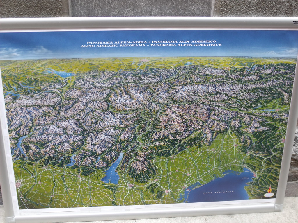 Salo map of Lake Garda panorama Salo is a town in Lomb Flickr