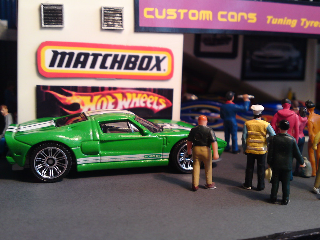 By Man Of Yorkshire Matchbox  Ford Gt In Green By Man Of Yorkshire