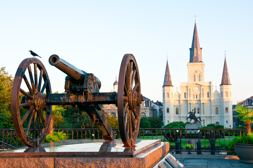 Jackson Square From Rear To Front First St Louis Cathed Flickr