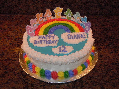 Care Bears Cake by Michelle B Birthday Cakes 4 Free ...