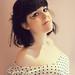 La muchacha de oscuros cabellos (autorretrato)