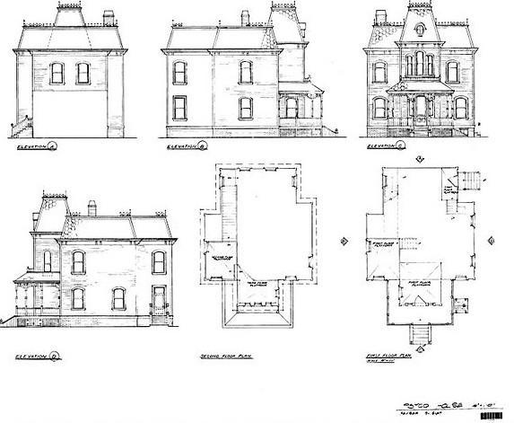 Bates House Elevations If You Actually Wanted To Build