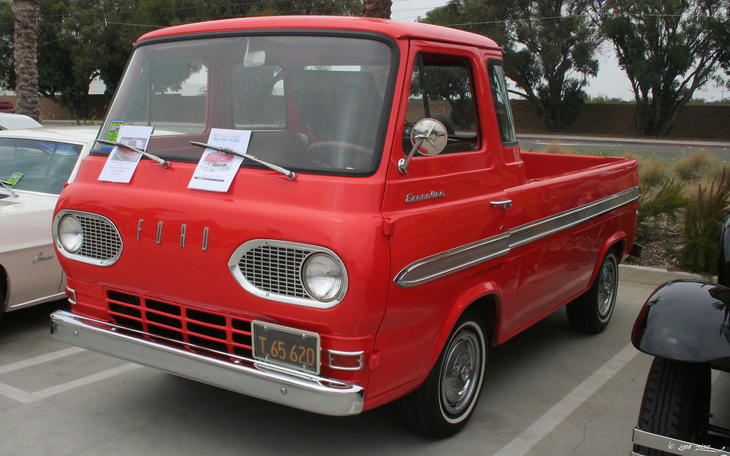 1965 Ford Econoline E100 Pickup Fvl Rex Gray Flickr