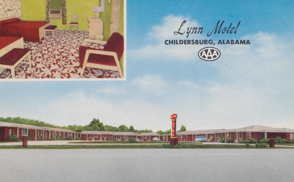 Lynn Motel - Childersburg, Alabama