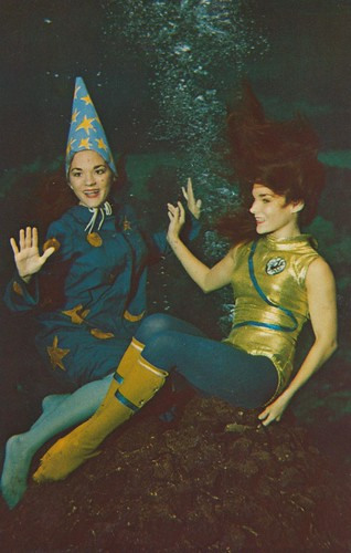 Moonmaids - Weeki Wachee, Florida | by The Cardboard America Archives