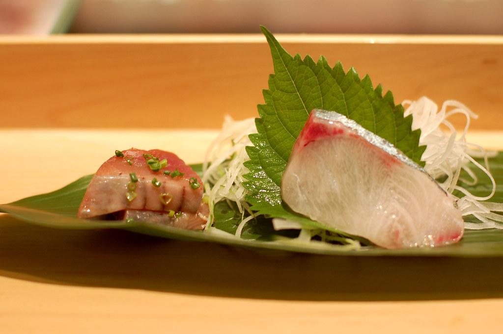 Katsuo With Scallions A Mirin Soy Sake Konbu Dashi Glaze