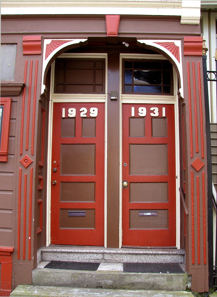 Funky doors | by RadioNn Funky doors | by RadioNn & Funky doors | I like the combination of the Victorian detail\u2026 | Flickr