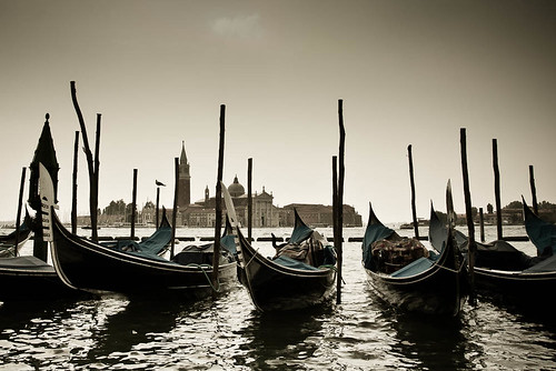 Gondolas in Venice | by Jarod Carruthers