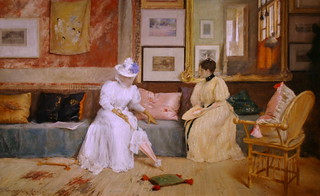 A Friendly Call by William Merritt Chase | by cliff1066™