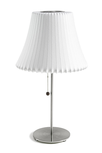 table lotus stand with replacement bubble lamp shade 1 flickr. Black Bedroom Furniture Sets. Home Design Ideas