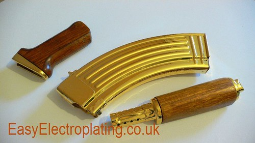 Gold Plated AK47 Parts | by EasyElectroplating