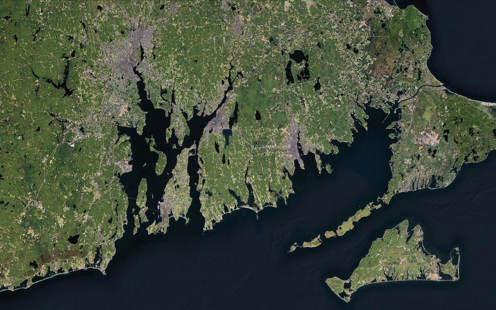 Map of Narragansett Bay Narragansett Bay And Nantucket