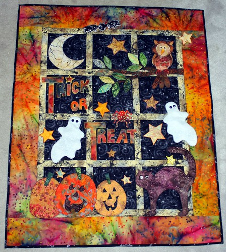 Halloween Quilt Based On A Pattern I Had In One Of My