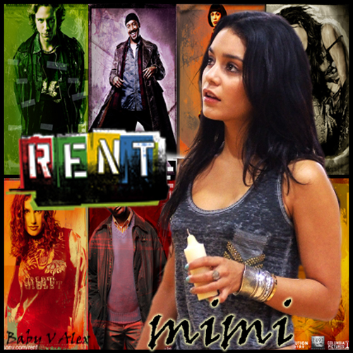 Rent (CD cover)-Vaness... Vanessa Hudgens