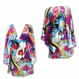 Ampm Fashion By  Ampm FashionWhite Kimono Ghost