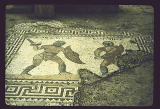 Gladiator Mosaic at Kourion (II)