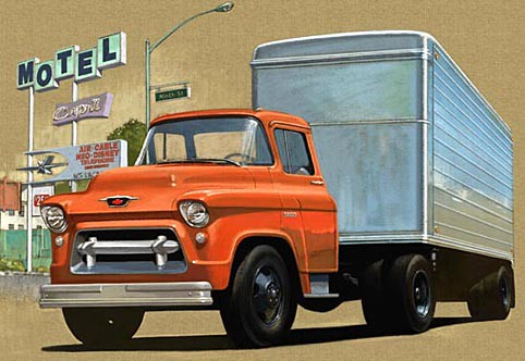 1950s Chevy Truck Coe 1957 Cab Over Engine Chevrolet