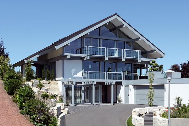 Modern Fachwerkhaus fachwerkhaus modern mein traumhaus flickr