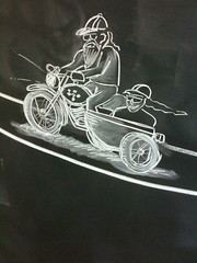 Motorcycle & Sidecar first cut