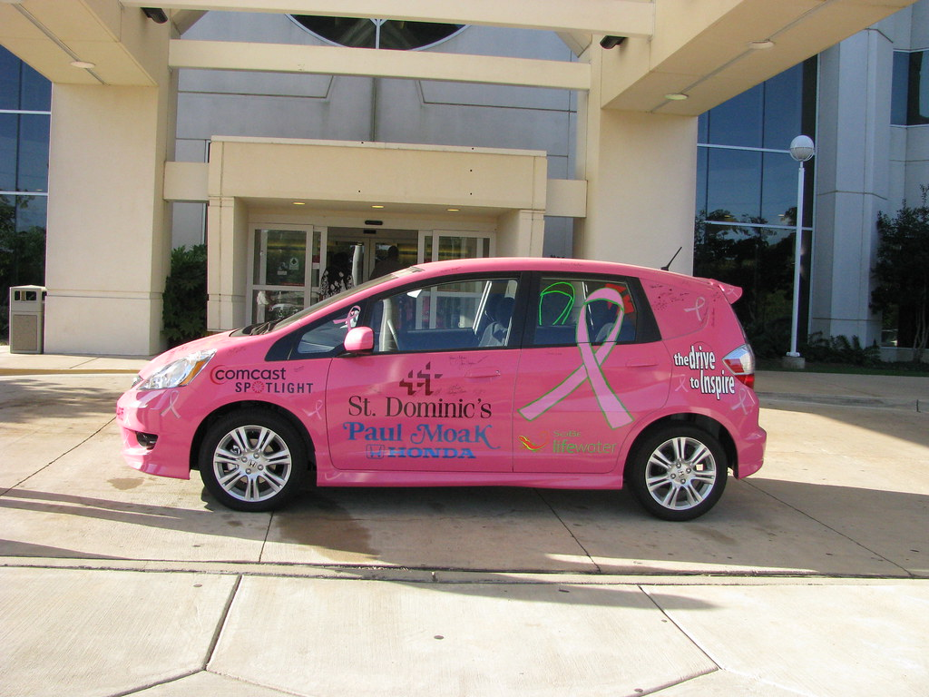 The pink fit this honda fit really isn 39 t pink btw that for Paul moak honda jackson ms