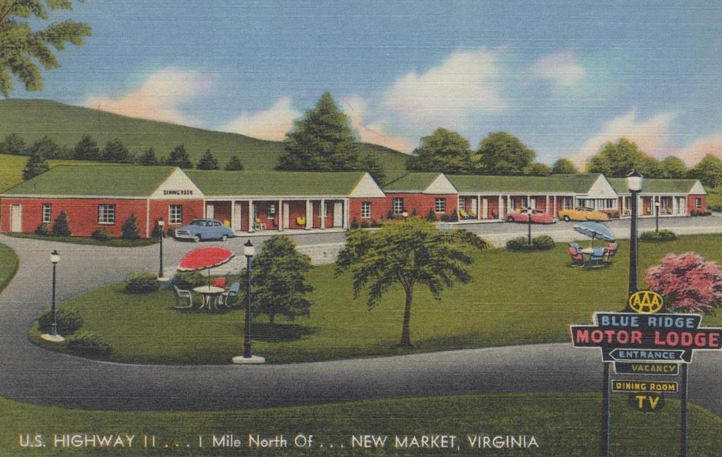 Blue Ridge Motor Lodge Dining Room New Market Virgini