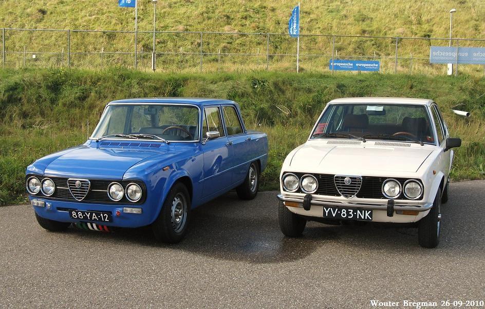 Alfa Romeo Giulia 1977 & Alfa Romeo Alfetta 1980 | Wouter ...