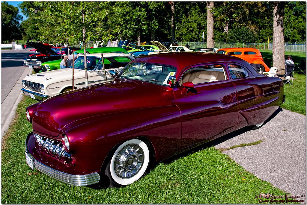 1951 mercury coupe owner dale and linda baker of oshawa