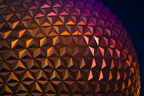 Epcot Florida night | by DAR Photos & Photoshop