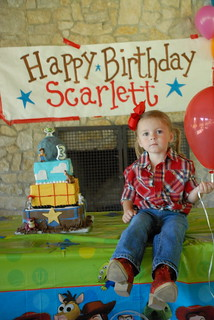 Scarlett's 3rd Birthday | by Belle Pastel