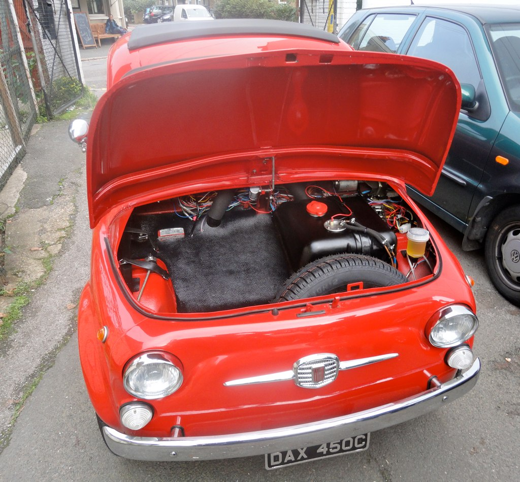 Fiat 500 D. 1961 Fiat 500 D Trasformable Coys Of