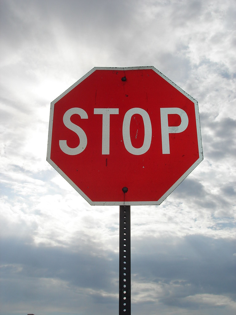What Shape Is A Stop Sign >> Stop Sign | Shape: Octogon Sign: Stop Colors: Red and White | Kt Ann | Flickr