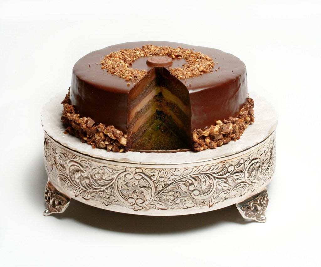 Venezuelan Triple Chocolate Truffle Cake Layered Milk