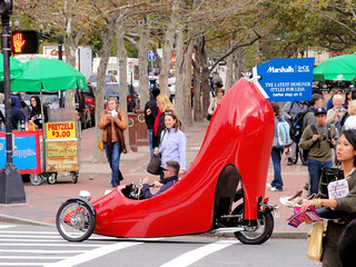Motorized Red Shoe | by brooksbos