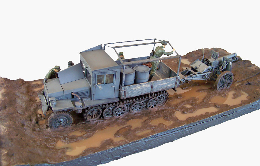 Sd Kfz 11 By The War Shop Afv Club 1 35 Sd Kfz 11 Late