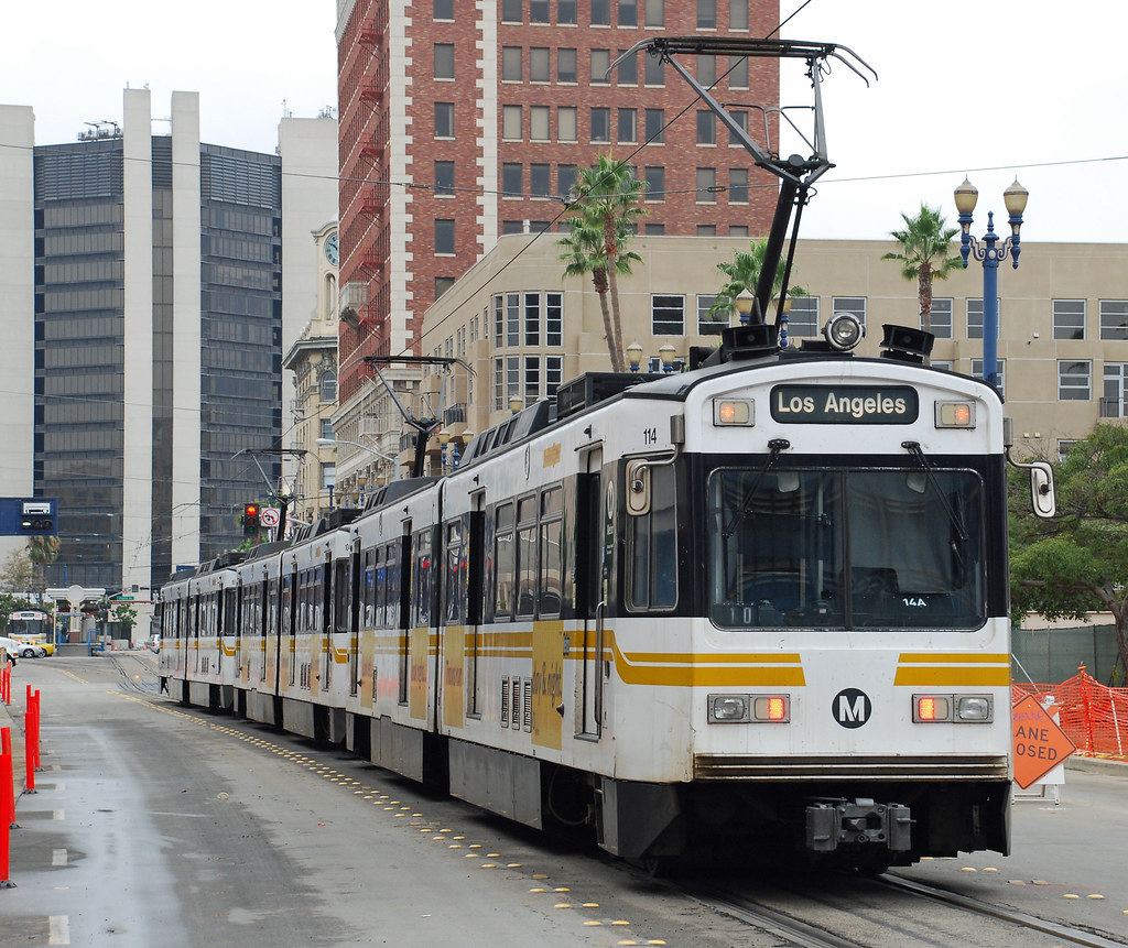 how to get to long beach by train