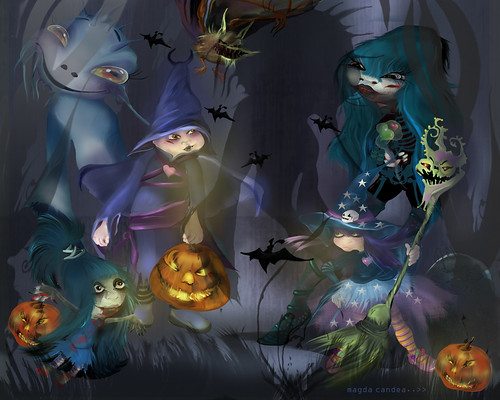 Halloween..trick or....:D | by magdda