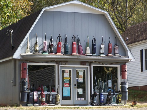 Abandoned Vacuum Cleaners