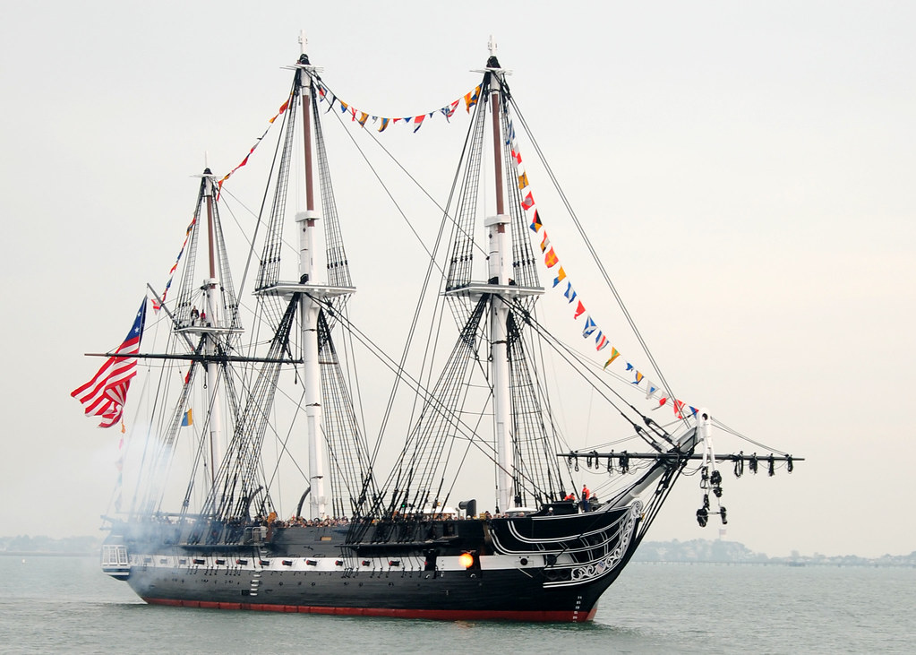 USS Constitution 213th launching Anniversary [Image 3 of 6 ...